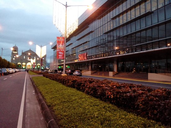 smx convention center is near the mall of asia church shrine