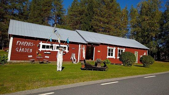 Lycksele, Sverige: Lotta hälsade oss välkomna