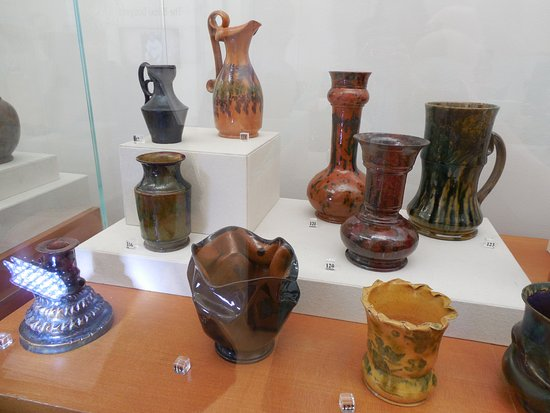 Ohr-O'Keefe Museum of Art : Pottery at the Museum