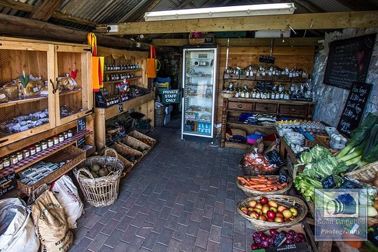 John O'Groats, UK: The farm shop