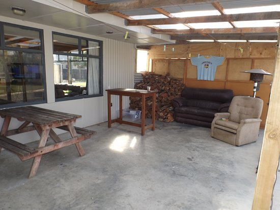 Riverton, New Zealand: Covered Outdoor Area
