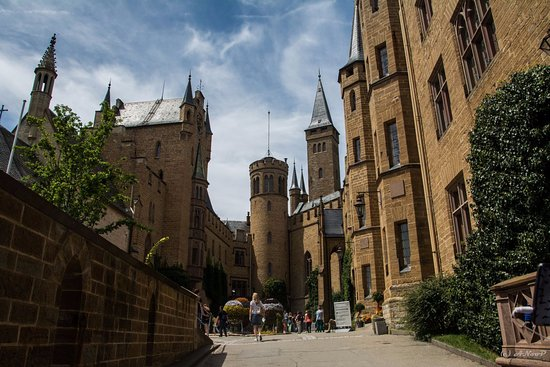 Castle of Hohenzollern : Burg Hohenzollern