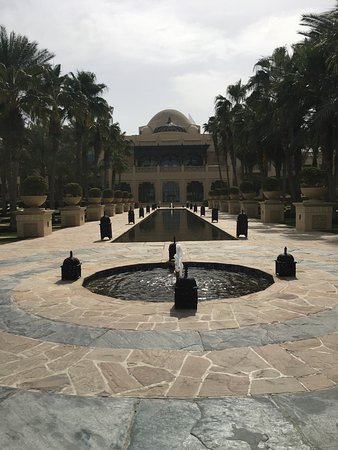 The Palace at One&Only Royal Mirage Dubai: Water feature