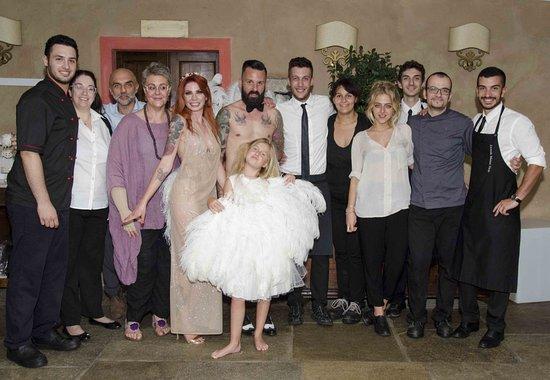 Cantalupa, Włochy: Matrimonio Deborah & Hans con il favoloso personale