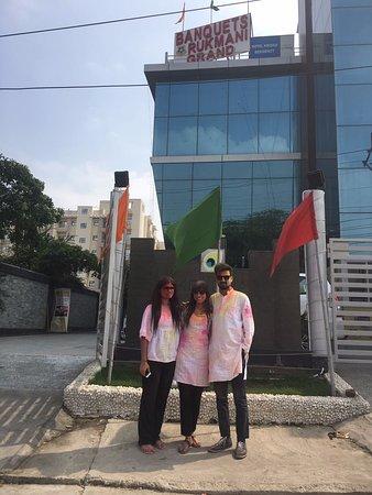 Kridha Residency - A Boutique Hotel: Holi @ Kridha Residency