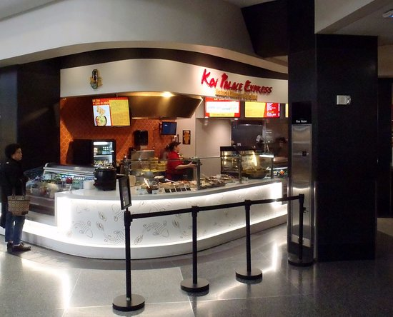 San Bruno, CA: food court counter for Koi Palace Express