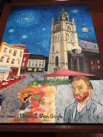 Halle, Belgium: De Kleine van Gogh - Eethuis
