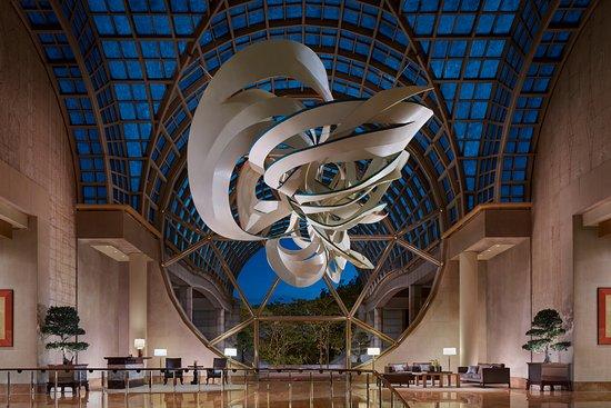 Cornucopia Art Sculpture in our Lobby at The Ritz-Carlton, Millenia Singapore