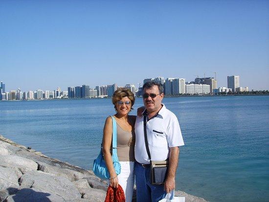 Abu Dhabi Mall: abu dhabi marina dan görünüm