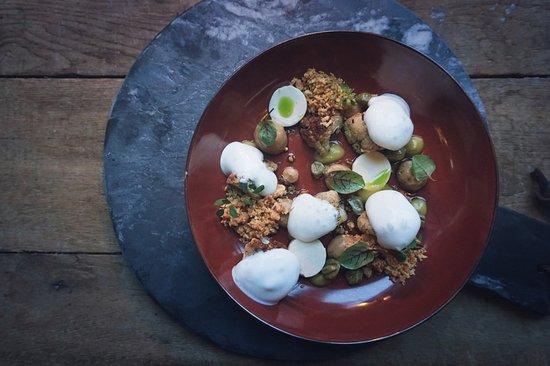 The Lobby Nesplein Restaurant & Bar: Vegetarian dish