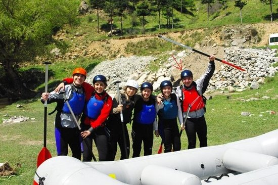 Simitli, Bulgaria: X-club rafting adventure