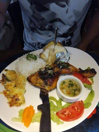 Restaurant le Planteur : poulet boucané