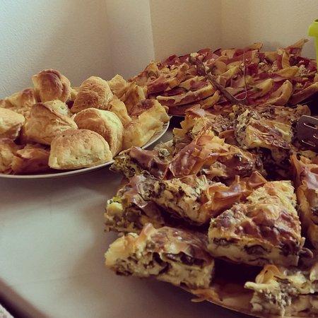 Sagini Hotel: Greek breakfast at its best!