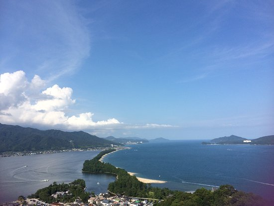 Amanohashidate View Land Picture