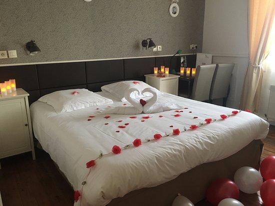 Hotel Chalet de l'Isere: LOVE DECO
