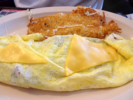 Starke, FL: Pretty bad omelette