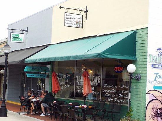 Toula S Trailside Cafe Tarpon Springs Fl