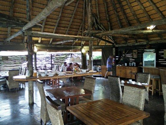 AmaZulu Lodge: Ontbijt ruimte