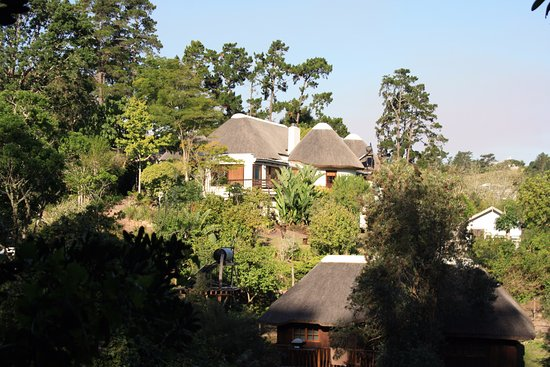 Badger's Lodge: View from opposite hill