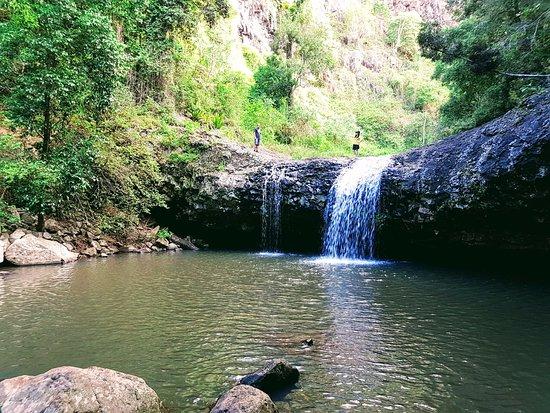 Beechmont, Australia: Lip Falls