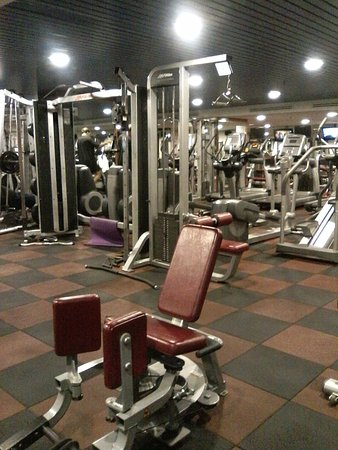 Gym Clark Hatch Personal Trainer Will Assist You If You Need Any Help Picture Of Hilton Petaling Jaya Hotel Tripadvisor