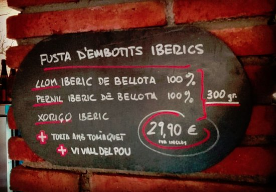 Viladrau, Spain: Fusta d'Embotits Iberics