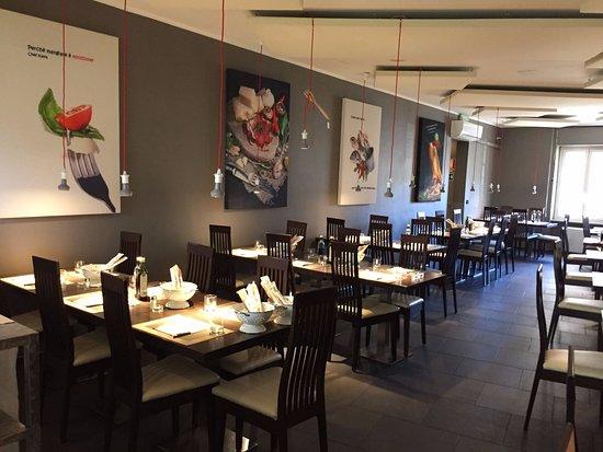 Ristorante Colapasta: il ristorante di giorno, sala rettangolare