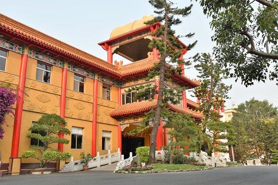 Fo Guang Shan Monastery Pilgrims Lodge: Side view of Pilgrim's Lodge