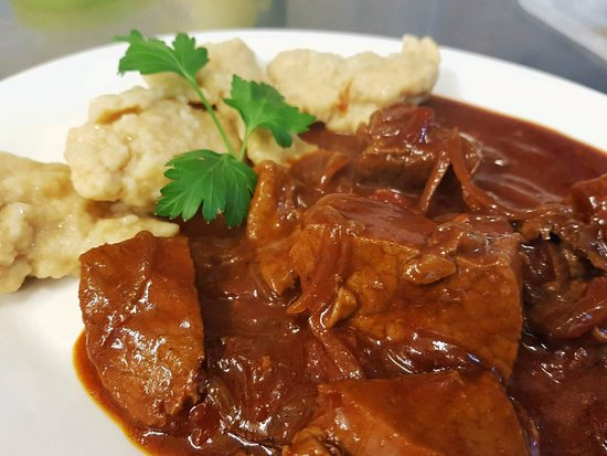 Grosmont, UK: Hungarian goulash