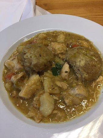 Guiting Power, UK: Chicken Dumpling Stew
