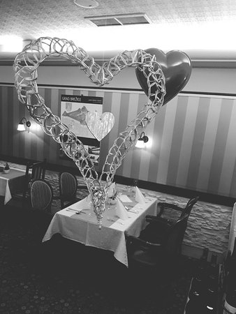 Brezice, Slovénie : Valentine's day decorations!