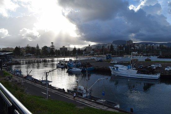 Wollongong, Australia: harbour