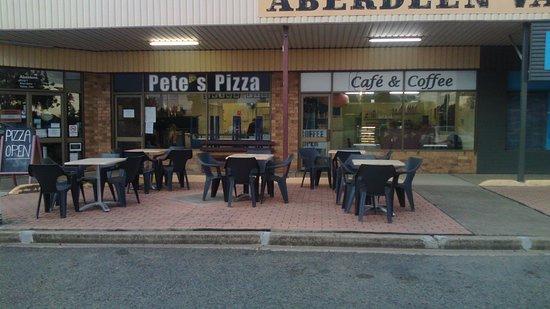 Aberdeen, ออสเตรเลีย: Pete's Pizza