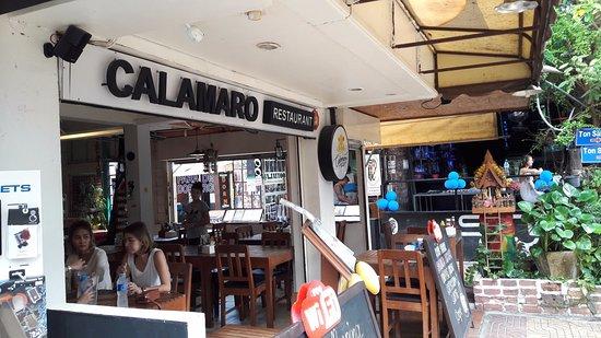 Calamaro Resto: ресторан