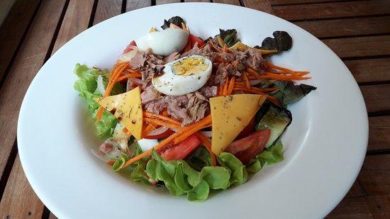 Calamaro Resto: салат