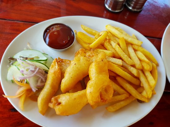La Goulue: Fish and chips