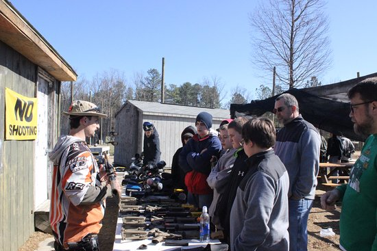 Chesterfield, VA: Equipment rental and safety lesson