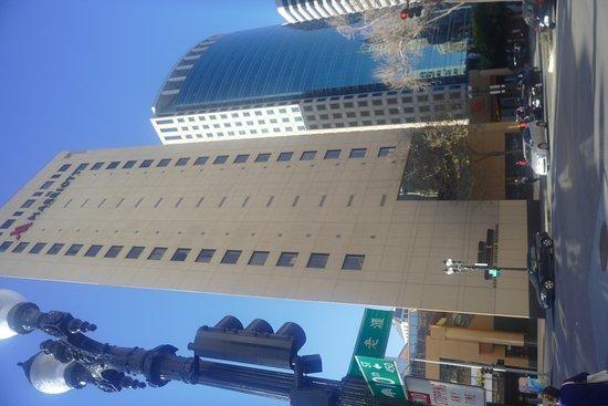 奧克蘭市中心萬豪飯店張圖片