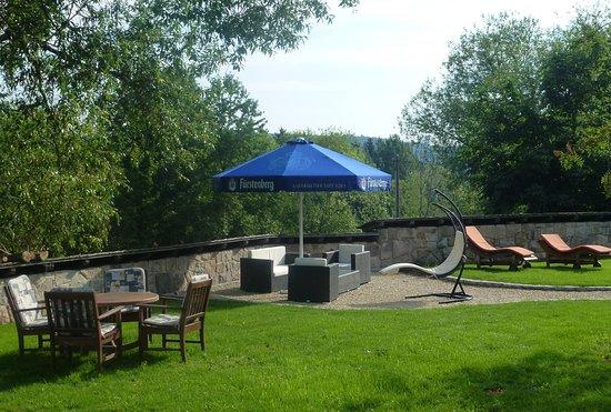 Bonndorf, Allemagne : Lounge im Garten