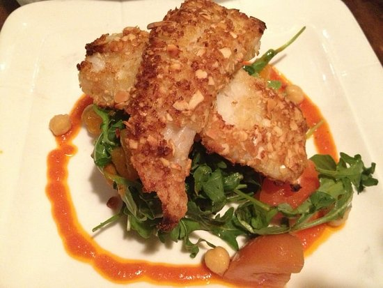 Whitestone, NY: Almond crusted filet of sole