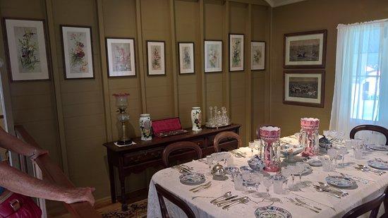 Herberton, Australia: Elderslie House formal dining room