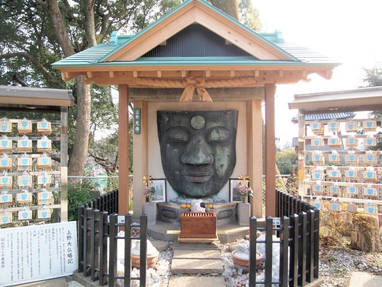 Ueno Great Buddha: 屋根が新調されていました