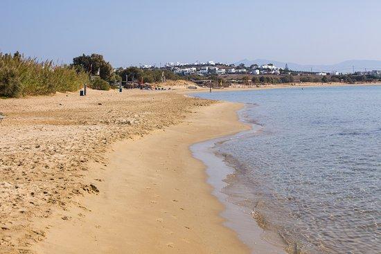Golden Beach, Grécia: The beach