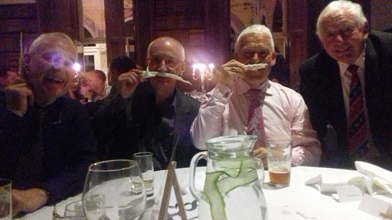Clevedon, UK: Four Muskateers at Four Cuisiniers excellent dinner
