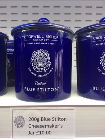Cropwell Bishop, UK: Special edition Cheesemaker's Shop Potted Blue Stilton