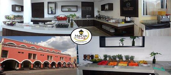 Restaurante Maria de la Luz: El mejor desayuno buffet