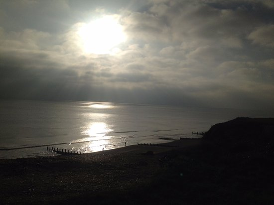 Bexhill-on-Sea, UK: From Galley Hill on a grey day