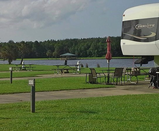 Amite, LA: One of our RV Park sites