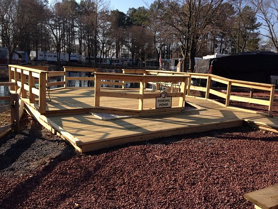 Georgetown, DE: New Fishing Dock!!!
