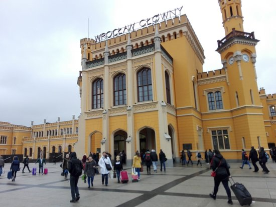 ‪Central Station of Wroclaw‬